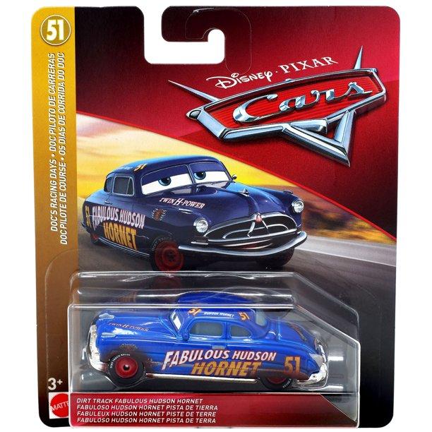 Disney Pixar Cars Doc S Racing Days Dirt Track Fabulous Hudson Hornet Diecast Car Walmart Com Walmart Com