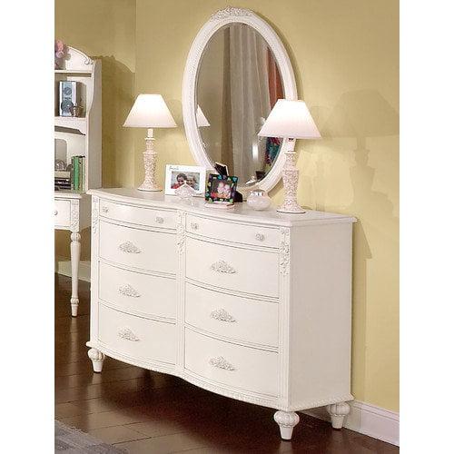 American Woodcrafters Cheri 6-Drawer Dresser Set