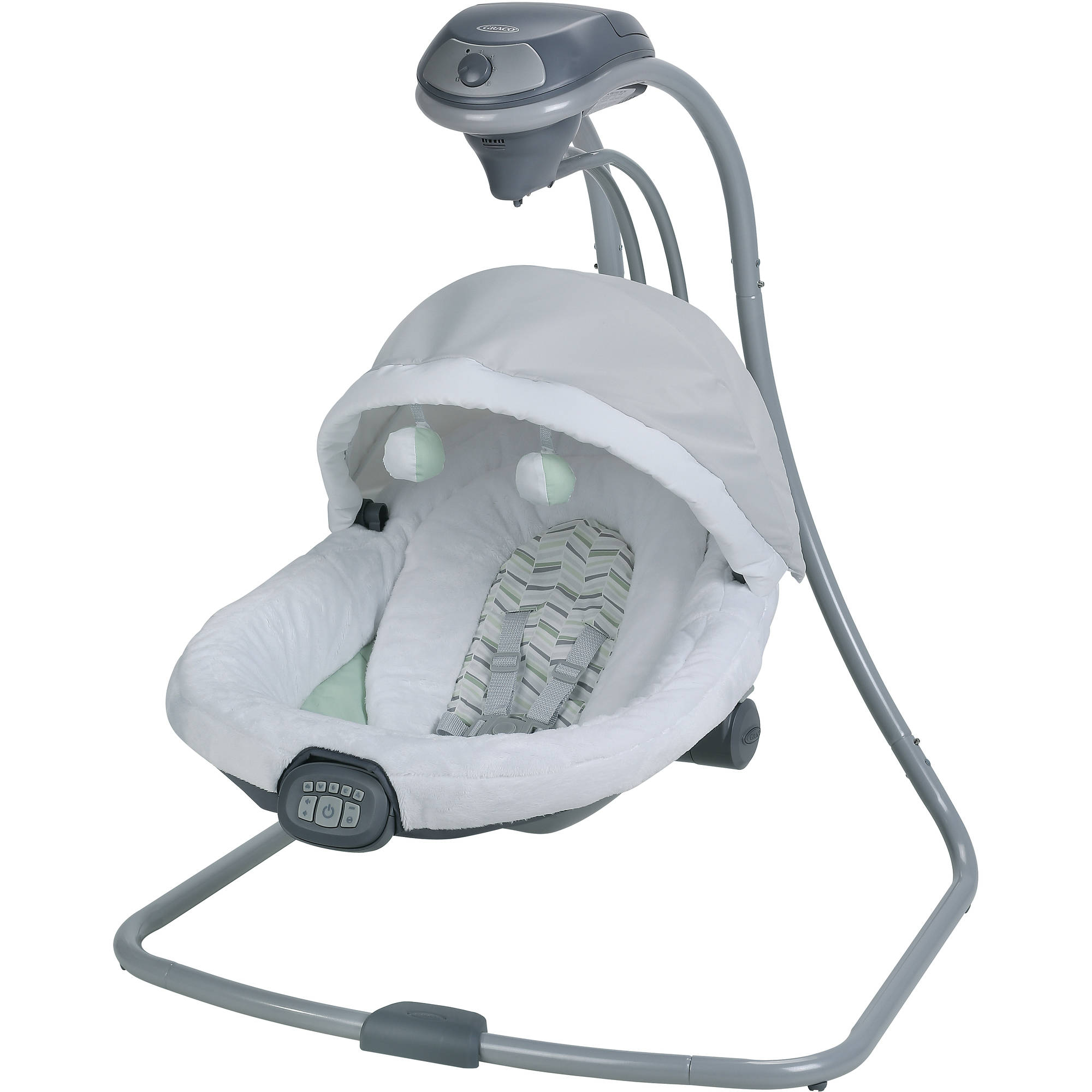 Graco Oasis with Soothe Surround Technology Baby Swing, Landry