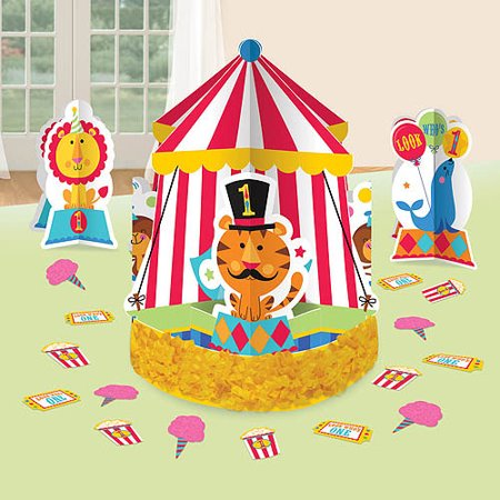 Fisher-Price 1st Birthday Centerpiece, White