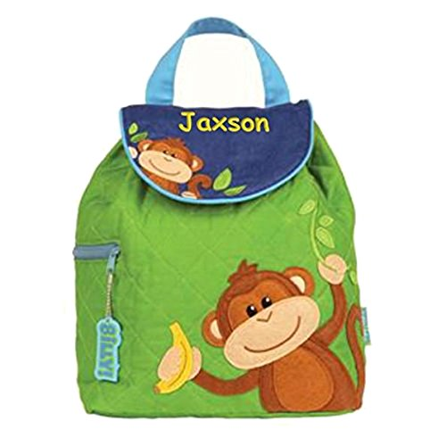Personalized Monkey Around Embroidered Backpack