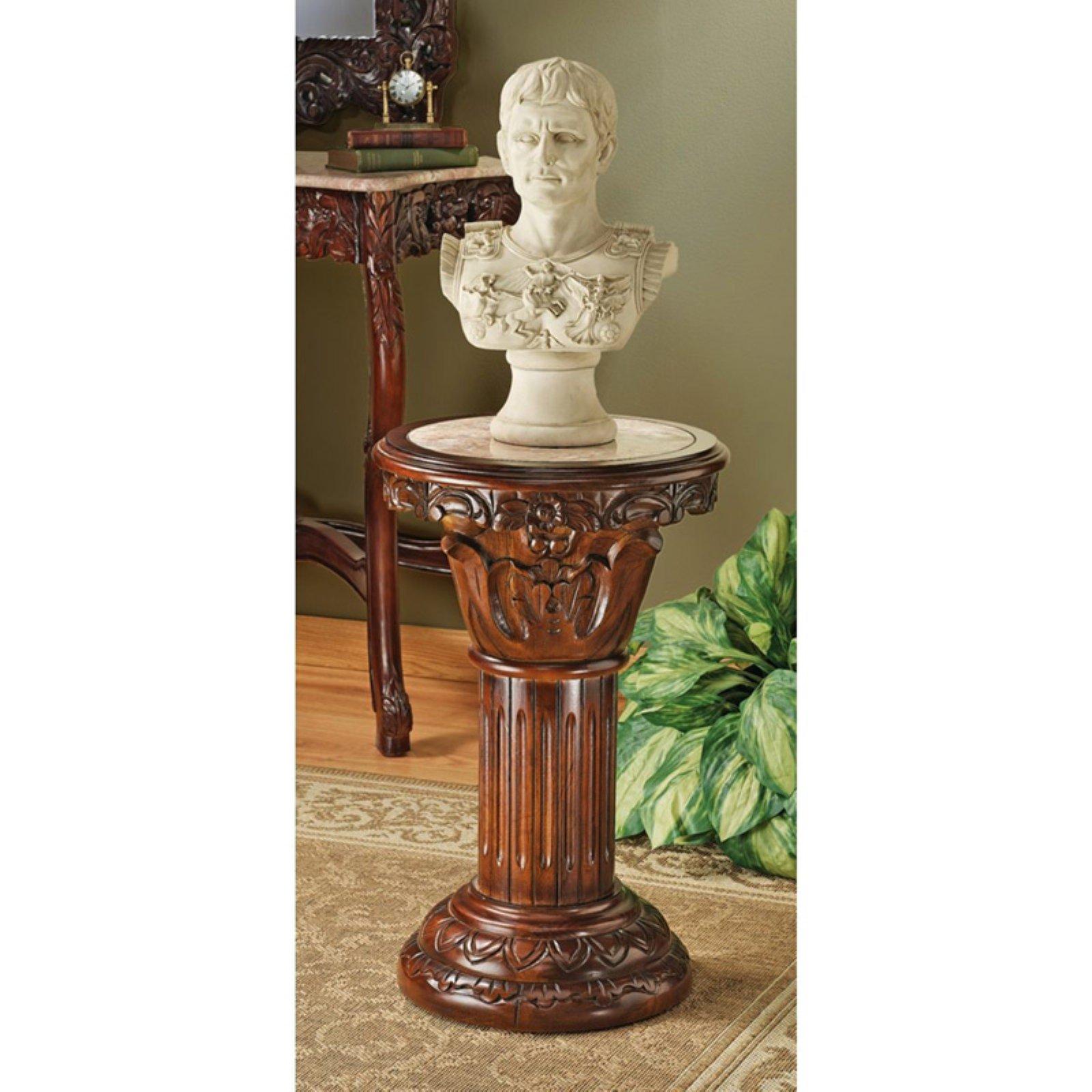 Design Toscano Imperia Marble-Inlaid Column