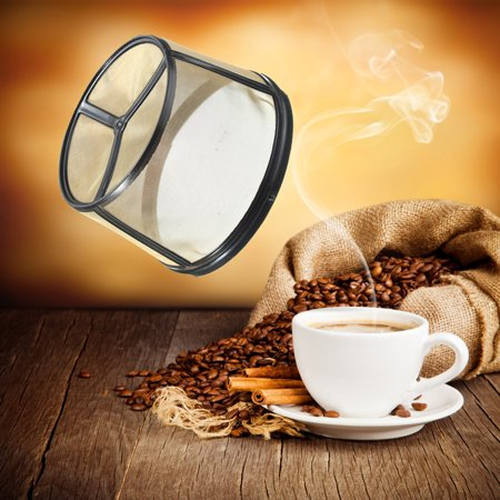 Permanent Coffee Filter Basket Washable & Reusable For BUNN Coffee Makers