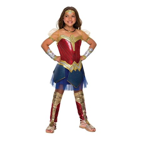 Justice League Movie Wonder Woman Premium Costume Child Small](Wonder Woman Kids Costume)