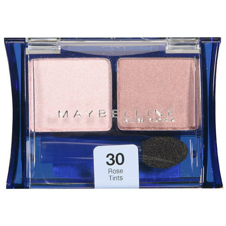 Maybelline Expert Wear Eye Shadow Duo, Rose Tints 30, 0.08 oz