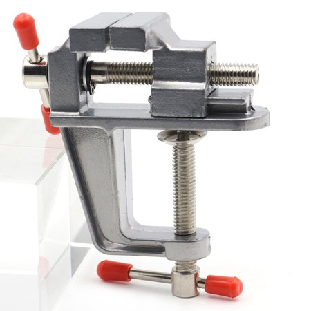Aluminum Miniature Small Hobby Clamp On Table Multi-functional Mini Tool - image 7 de 7