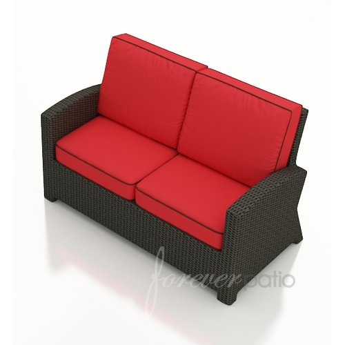 Forever Patio Barbados Loveseat with Cushions