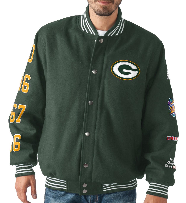 "G-III Sports Green Bay Packers NFL ""Dynasty"" Men's Super ..."