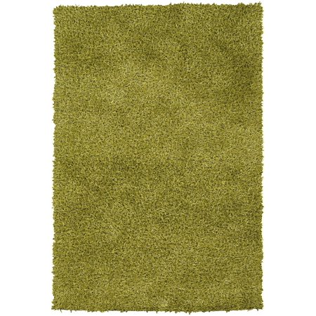 Contemporary Zara Collection Area Rug in Green and Oval, Rectangle, Round, Runner (Zara Rug Collection)