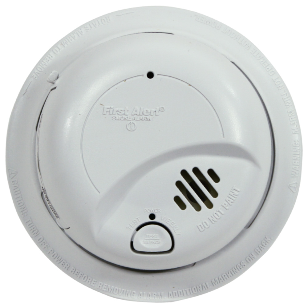 First Alert Hardwired Smoke Alarm With Battery Backup 9120b