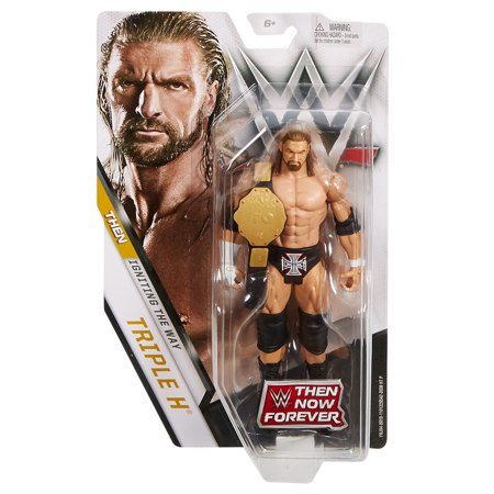WWE Then Now Forever Triple H Action Figure