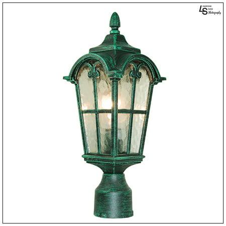 Loadstone Studio Victorian Collection Verde Green Finish
