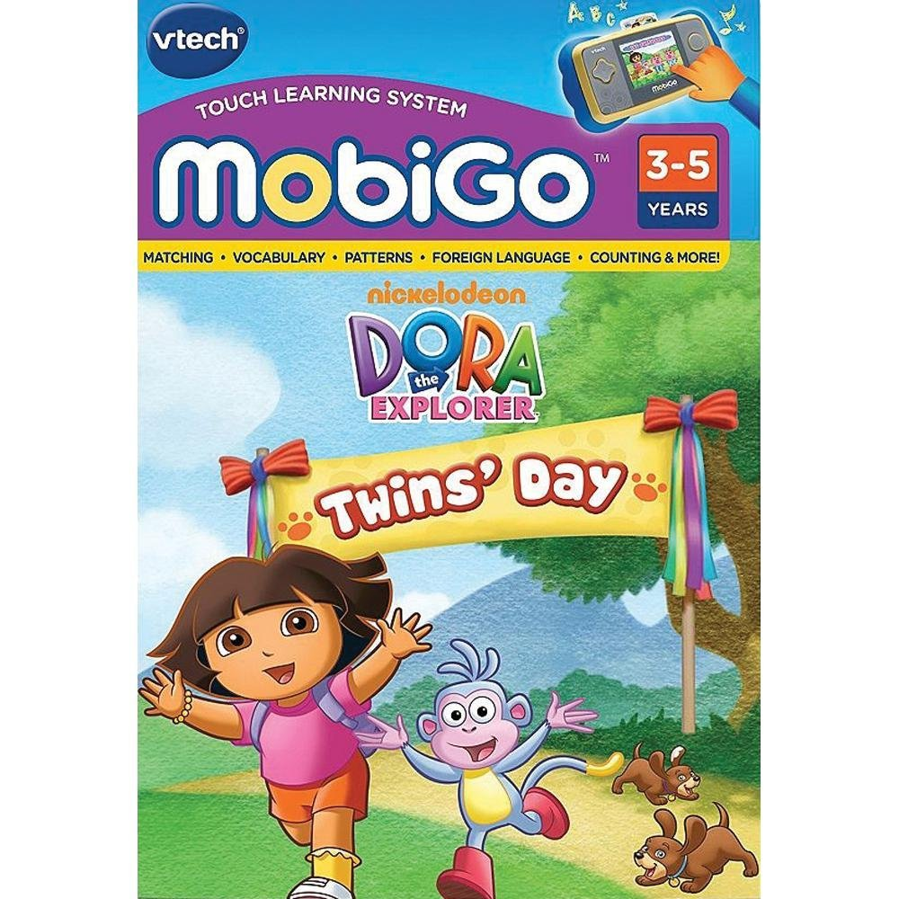 - MobiGo: Dora the Explorer Twins' DayPreschool curriculum includes colors, shapes,... by