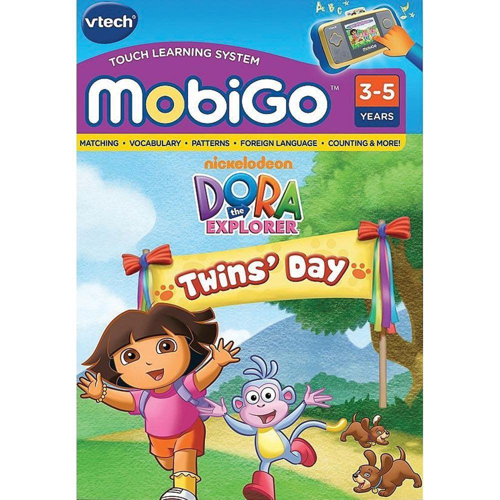 - MobiGo: Dora the Explorer Twins' DayPreschool curriculum includes colors, shapes,... by