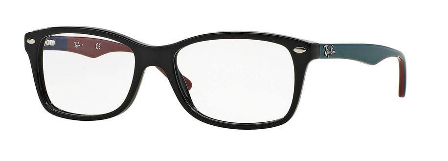 d697983bc60 ... wholesale ray ban matte black grey eyeglasses rx5228 5544 53 3de2b 86905