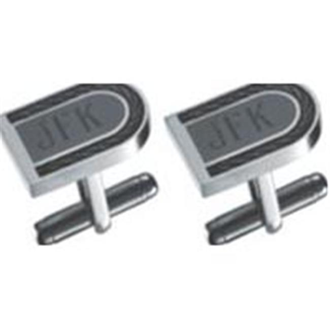 Visol VCUFF720 Curvature Stainless Steel Cufflinks