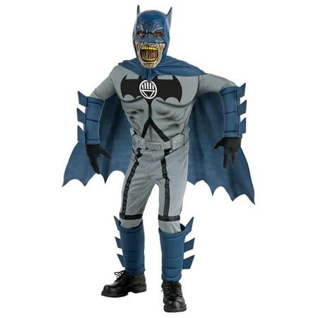Child Deluxe Batman Zombie Costume Rubies 884735