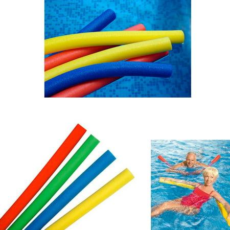4 Swimming Floating Pool Foam Noodle Swim Noodles Water Float Floatie Crafts