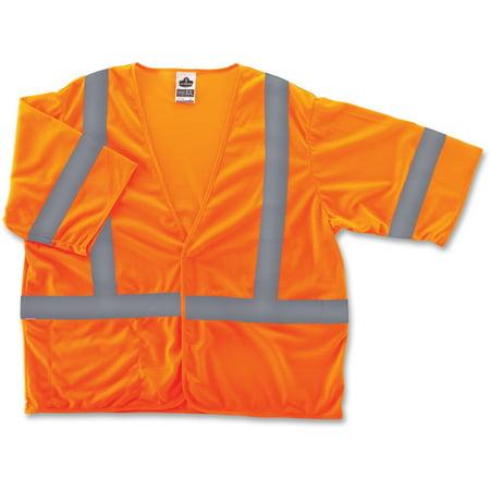 - GloWear, EGO22013, Class 3 Orange Economy Vest, 1 / Each, Orange