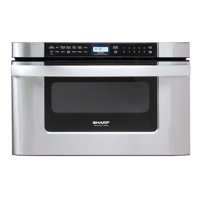 "Sharp KB6524P 24"" Wide 1.2 Cu. Ft. Drawer Microwave with Auto Defrost"