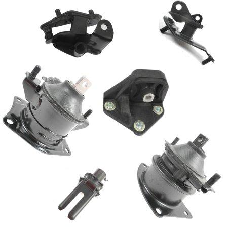 Fits: 2003-2007 Honda Accord 3.0L Engine Motor & Trans Mount Set 6PCS for Auto Transmission 9247, 9451, 9220, 9215, 9214, A4591