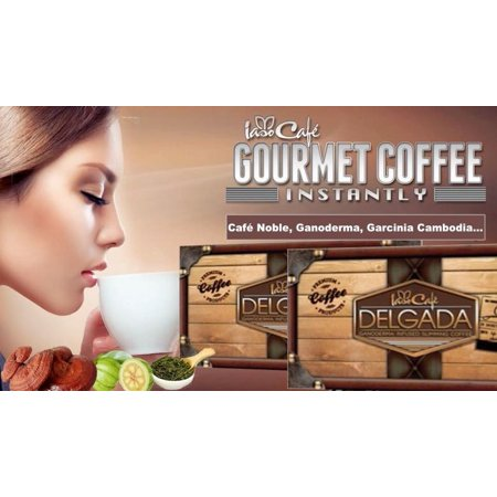 Iaso Cafe Delgada Slimming Coffee  5 Sample Pack,Accelerate fat loss, fight bloating, release toxins. All Natural, laxative-free, powerful superfood weight loss