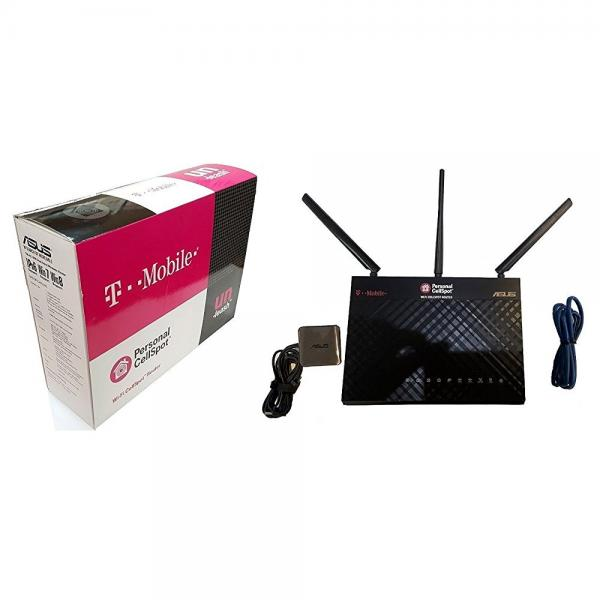 T-Mobile (AC-1900) By ASUS Wireless-AC1900 Dual-Band Gigabit Router, AiProtection with Trend Micro for Complete Network Security