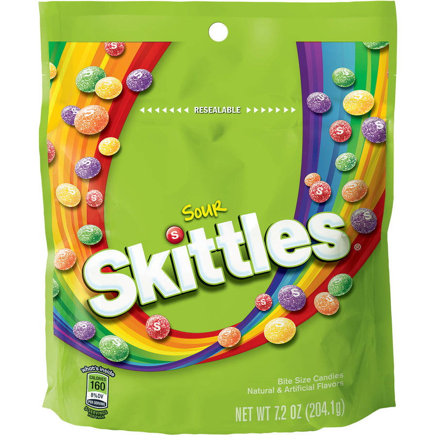 Skittles Sour Candy, 7.2 oz