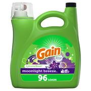 Gain Moonlight Breeze, 96 Loads Liquid Laundry Detergent, 150 fl oz