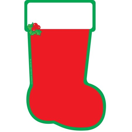 Large Notepad - Stocking (Stocking Shape)