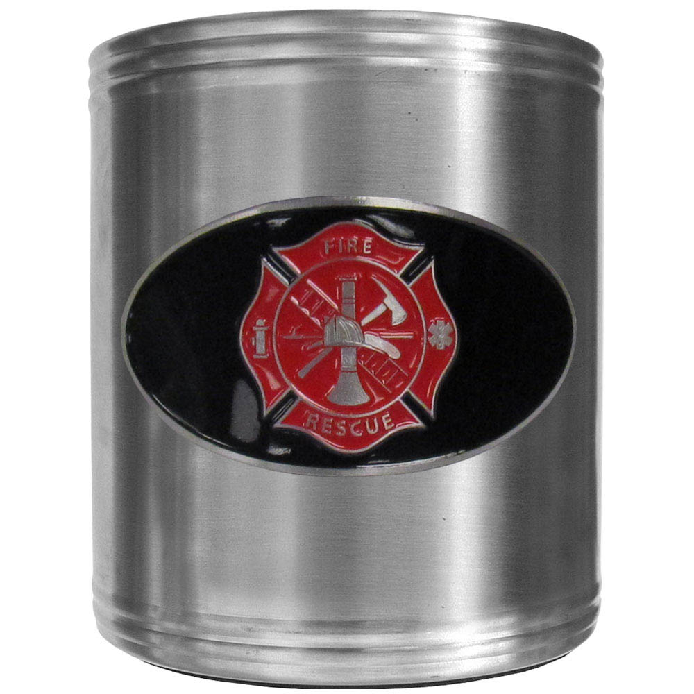 Firefighter Can Cooler