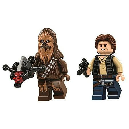 Lego Star Wars Death Star Minifigures   Han Solo   Chewbacca  75159