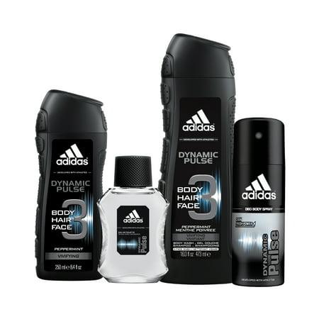 adidas dynamic pulse home  gym body wash body spray