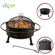 NEW Clevr Big Sky Stars and Moons Fire Pit Celestial Firepit Bonfire Bowl