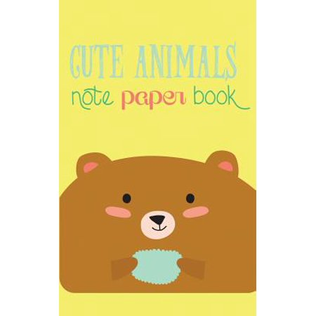 Cute Animals Note Paper Book  120 Page Scrap Paper Notebook For Recording Notes  5 X 8 Inches   Pocket Sized
