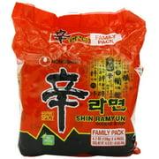 NineChef Bundle - NongShim Shin Ramyun Noodle Soup 4.2 Ounce (Pack of 24)+ 1 NineChef ChopStick