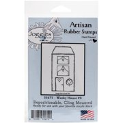 """Joggles Cling Stamp 2.25""""x4.25""""-wonky Ho"""