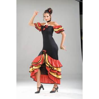 Spanish Woman Costume (COSTUME-SPANISH LADY)