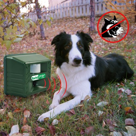 Aspectek Bark Stop Classic Dog Silencer Bark Controller, Stop Barking, Ultrasonic Animal Pets Repeller, Bark Controller, 5000 ft2 coverage, with Adjustable Dials Weather Resistant