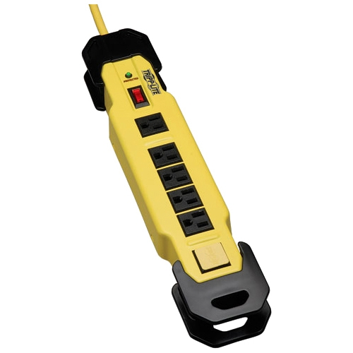 Tripp Lite Protect It! 6-Outlet Industrial Safety Surge Protector, 1500 Joules