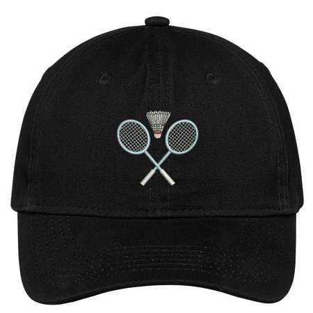 Trendy Apparel Shop Badminton Equipment Embroidered Soft Crown 100% Brushed Cotton Cap