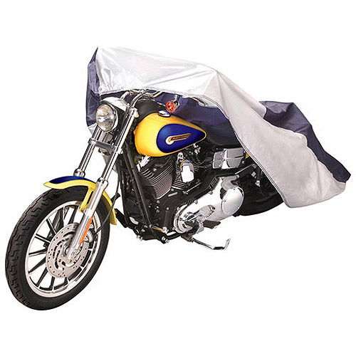 "Budge Standard Motorcycle Cover, Water-Resistant, Size MC-1: 96"" L x 44"" W x 44"" H"