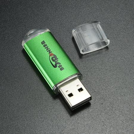 BESTRUNNER 1GB USB 2.0 Flash Drive Pen Bright Memory Stick Thumb U Disk,Silver