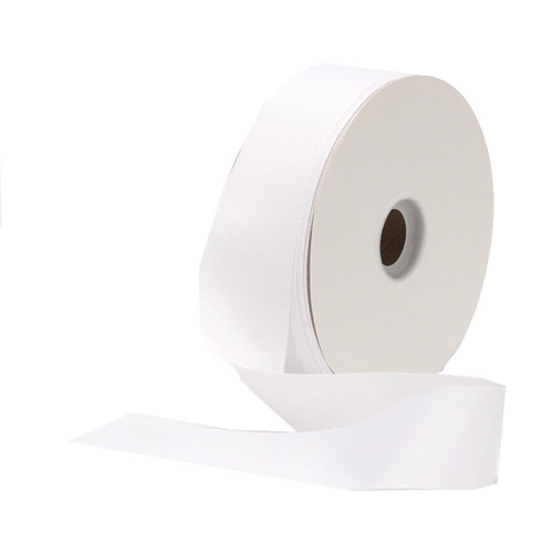 Berwick Offray Grosgrain 12' Craft Ribbon, White