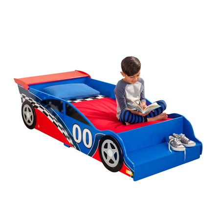 KidKraft Racecar Toddler Bed (Toddler Car Bed Girl)