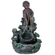 Entrada EN13101 Boy Polyresin Fountain - With Pump