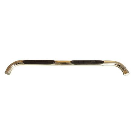 "eCustom 34482 Polished 3"" Round Nerf Bar Side Step For GMC Canyon Chevy Colorado"