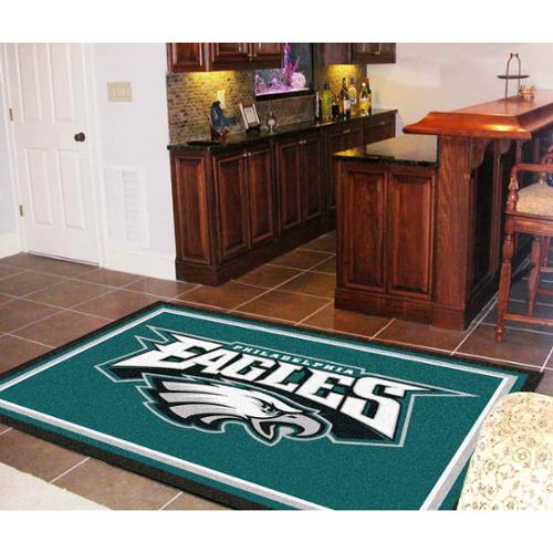 "NFL - Philadelphia Eagles Rug-Shape:Rectangular,Size:60""Lx92""Wx0.5""H"
