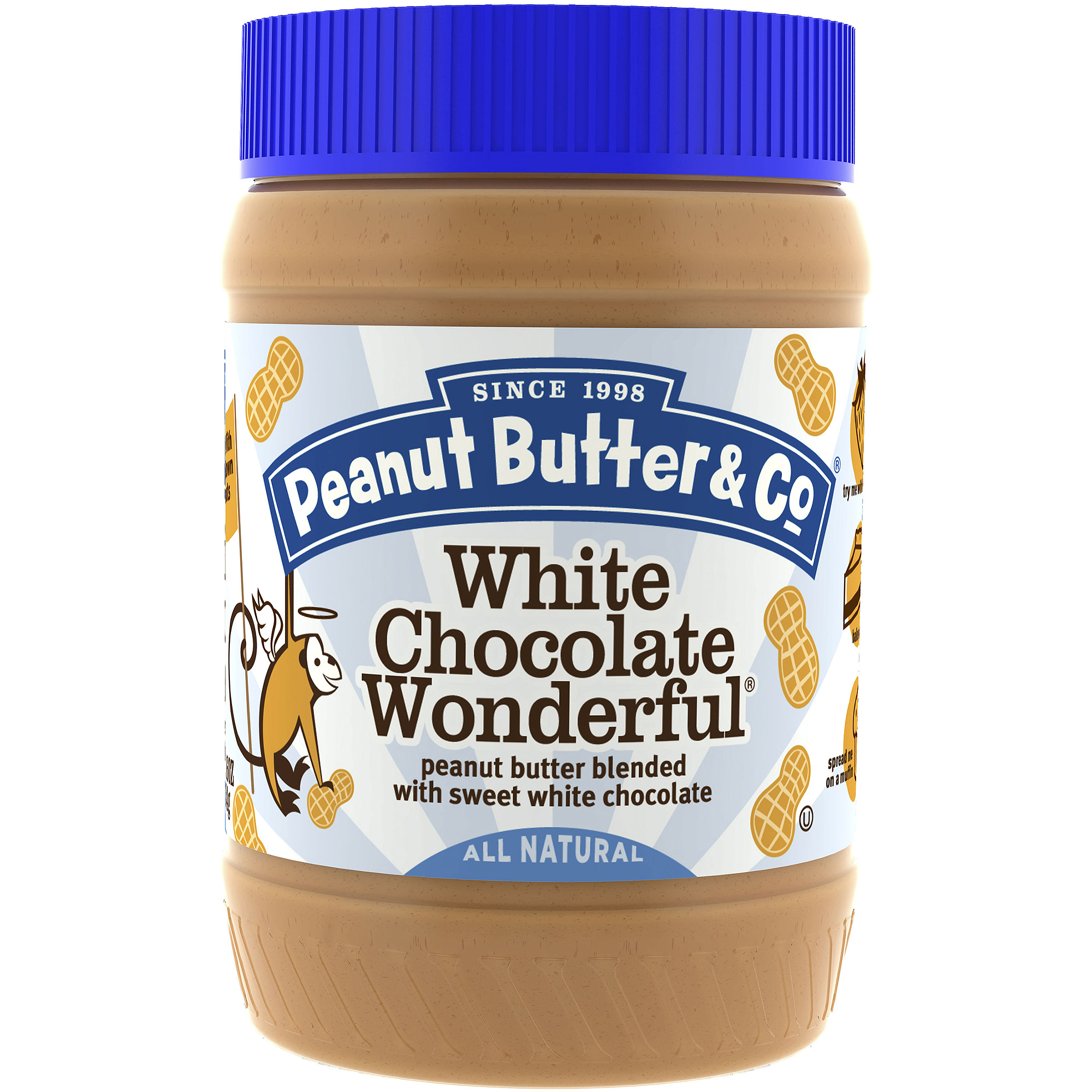Peanut Butter & Co.: White Chocolate Wonderful Peanut Butter, 16 Oz