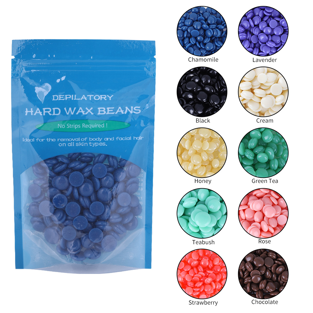 Tbest Depilatory Wax,10 Flavors Hard Wax Beans Hot Film Depilatory Wax Bead Body Legs Hair Removal Wax 50g, Depilatory Hard Wax